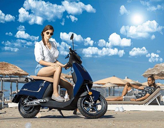 Un scooter très simple à utiliser