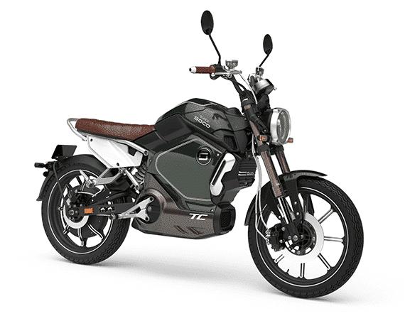 Une moto électrique vintage et une conception haut de gamme